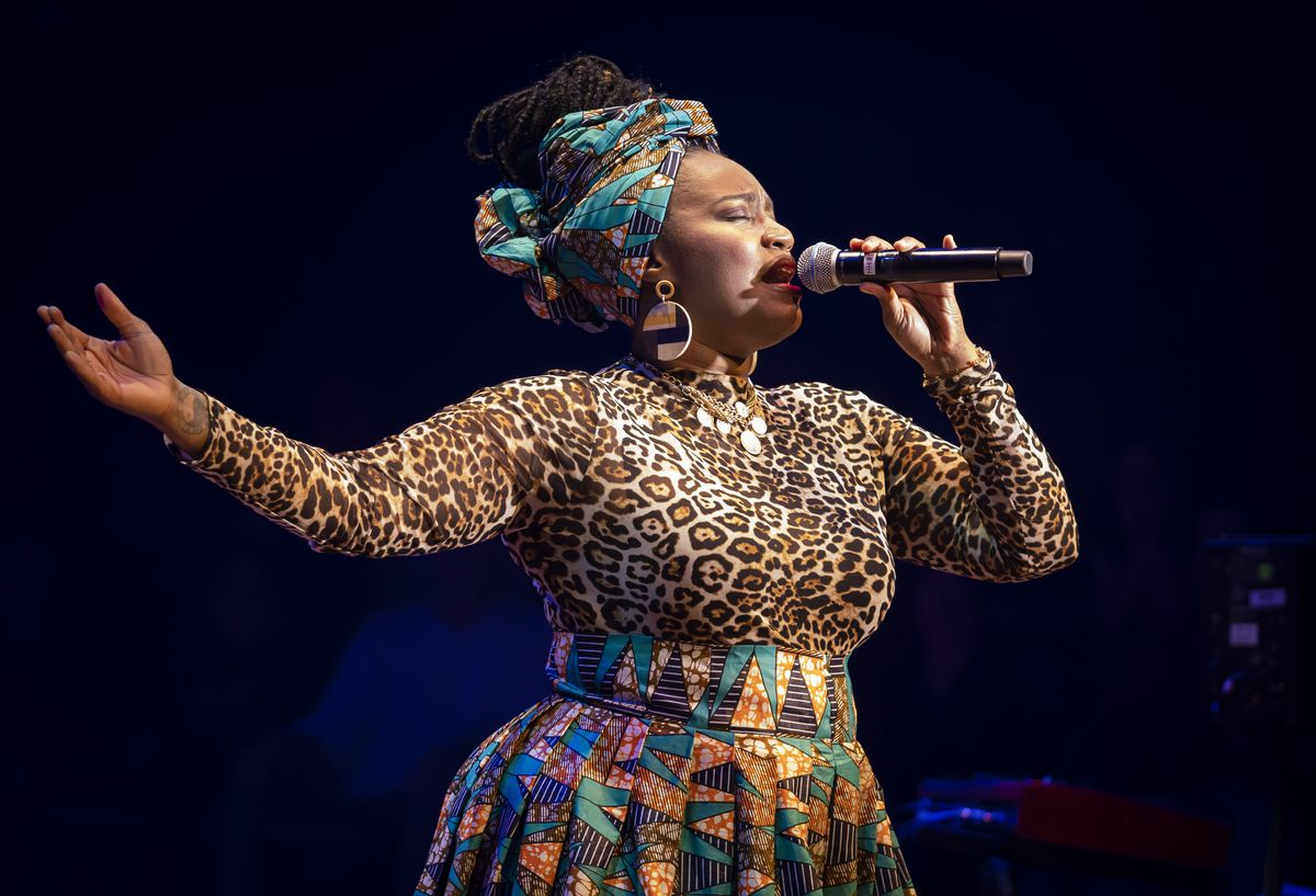 """Rashada Dawan is among the featured performers in """"DJEMBE! The Show"""" at the Apollo Theater. 