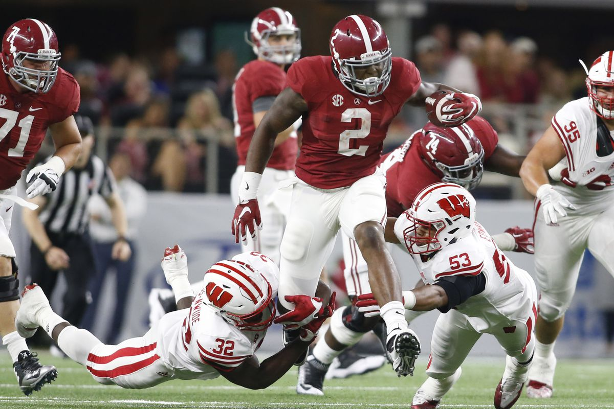 Like their stud running back, Derrick Henry, the Tide is now #2.