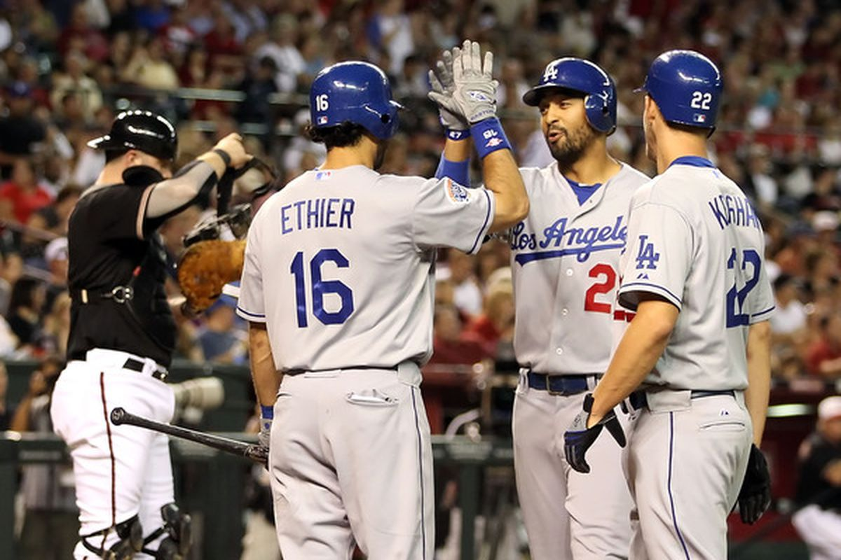 Clayton Kershaw, Andre Ethier and, when he was healthy, Matt Kemp, had themselves quite a start to the 2012 season for the Dodgers.