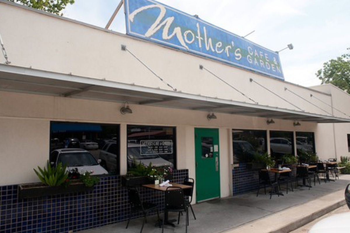 Mother's Cafe and Garden.