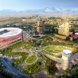 The Manica design for Nuovo Stadio Milano.