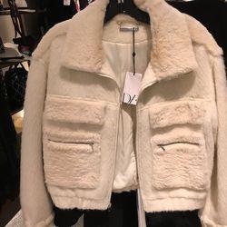 DVF jacket, $389