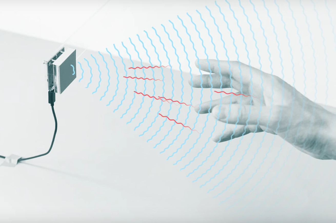 Project Soli uses miniature radar to detect gestures.