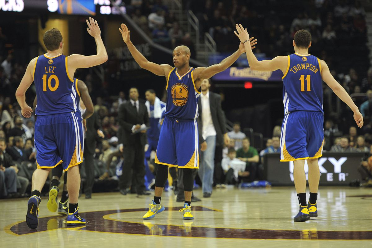 How many of these three will be on the Warriors' roster for the 2013-14 season?