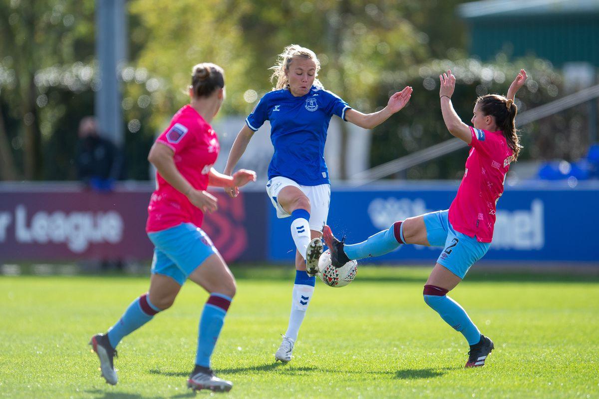 Everton Women v West Ham United Women - Barclays FA Women's Super League