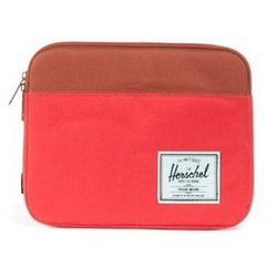 """Herschel Supply Co. Anchor iPad sleeve, <a href=""""http://www.azaleasf.com/#view=details&item=HERMACBAGH123101RED&search=*category/bags-and-wallets/*gender/men*&currIndex=0&pageSize=60&currSort=score&sortDirection=desc"""">$60</a> at Azalea; form and function"""