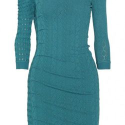 """Catherine Malandrino pointelle-knitted <a href=""""http://www.theoutnet.com/product/215676"""" rel=""""nofollow"""">dress</a>. Original price $495; now $74.25."""
