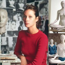 """The <b>Christy Turlington</b> """"Yoga Pose"""" mannequin from the 2002 collection"""