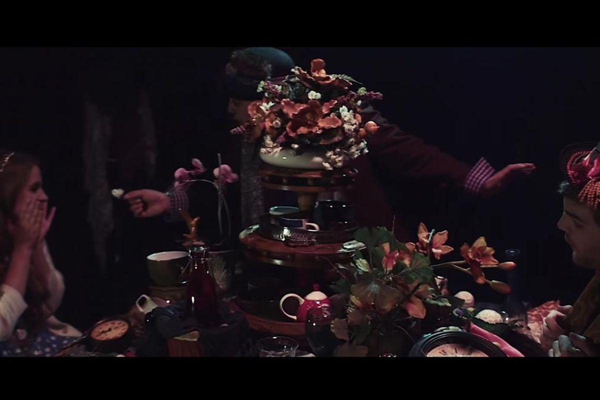 "A music video captures the spirit of ""Wonderland."""