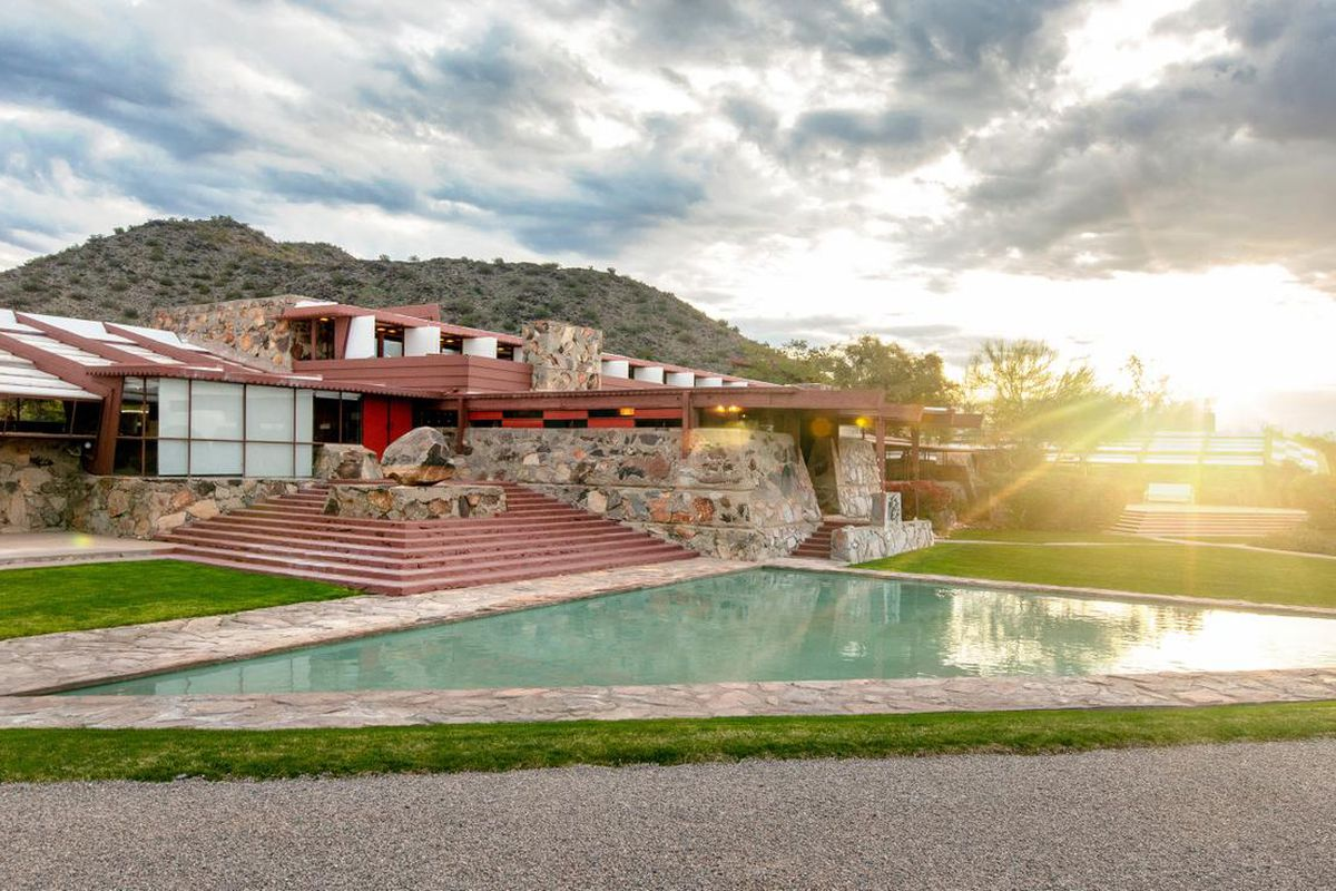Taliesin West during the daytime