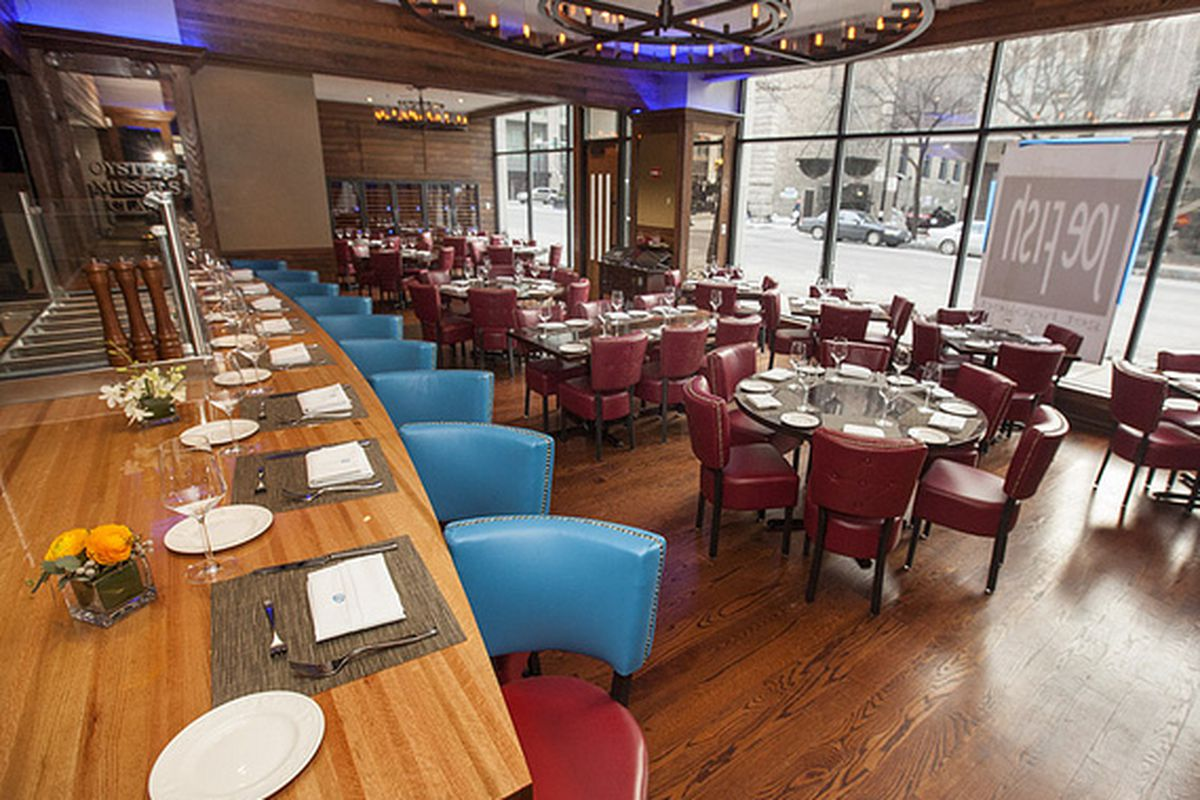 Joe Fish Shutters In River North A Month After Chef 39 S