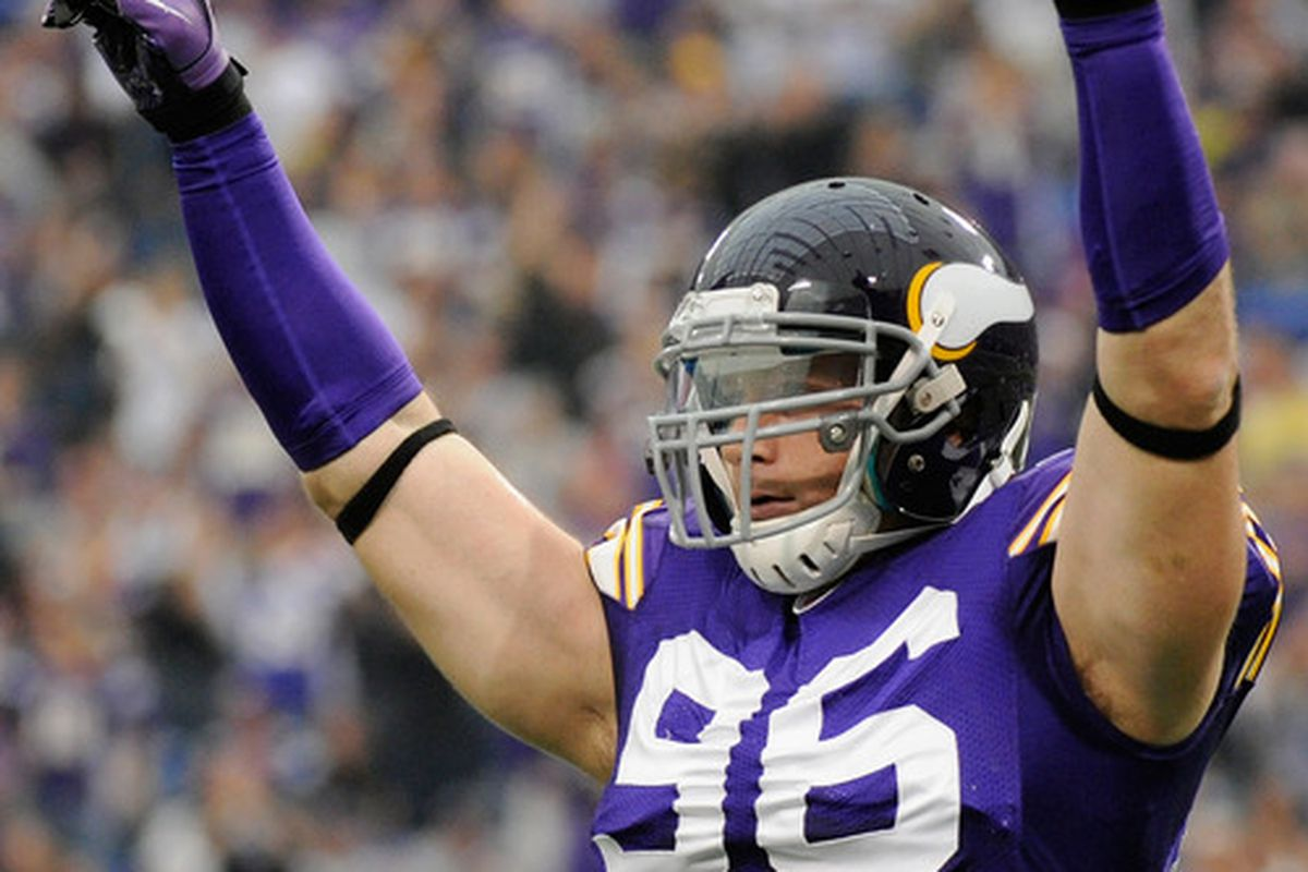 Vikings DE Brian Robison seems to be a big fan of the new staff.
