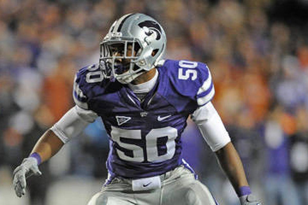 Tre Walker, Kansas State linebacker