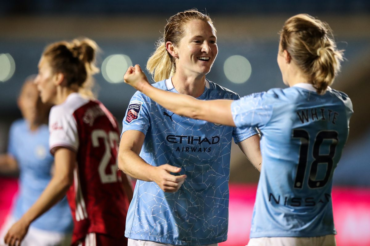 Manchester City v Arsenal - Vitality Women's FA Cup: Semi Final