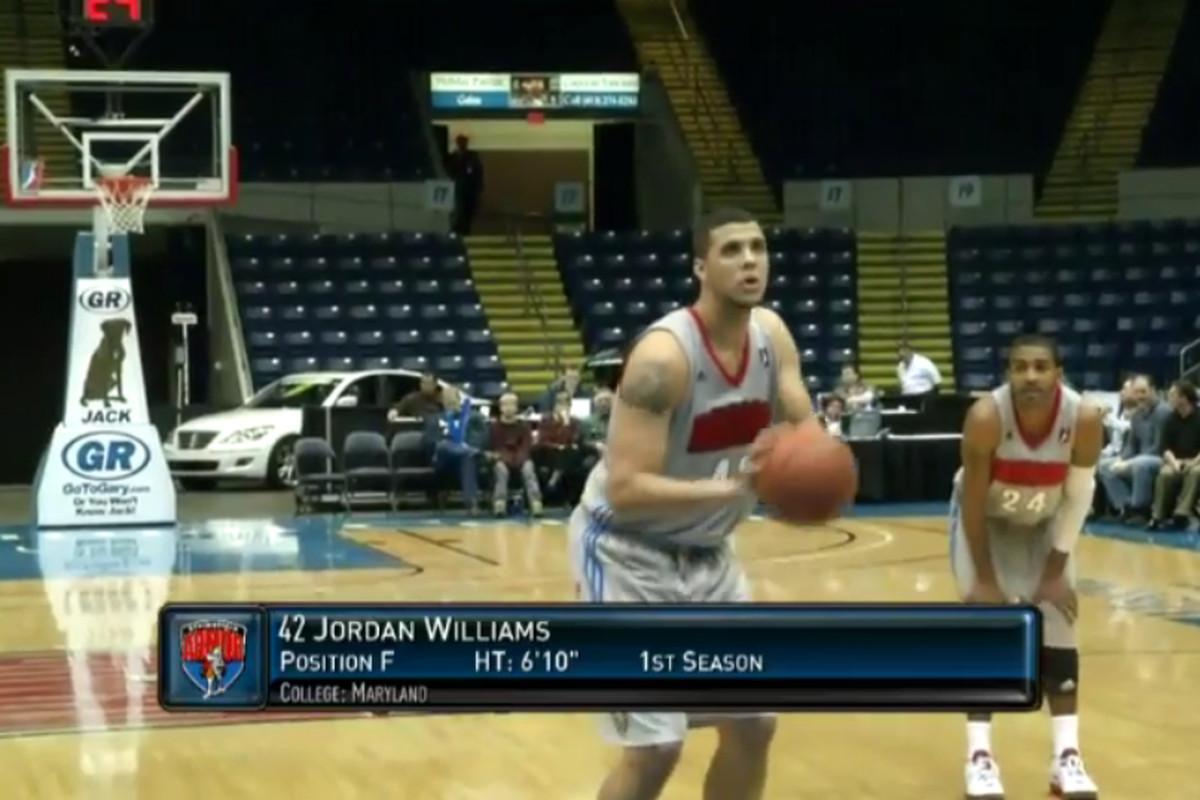Jordan Williams D-League