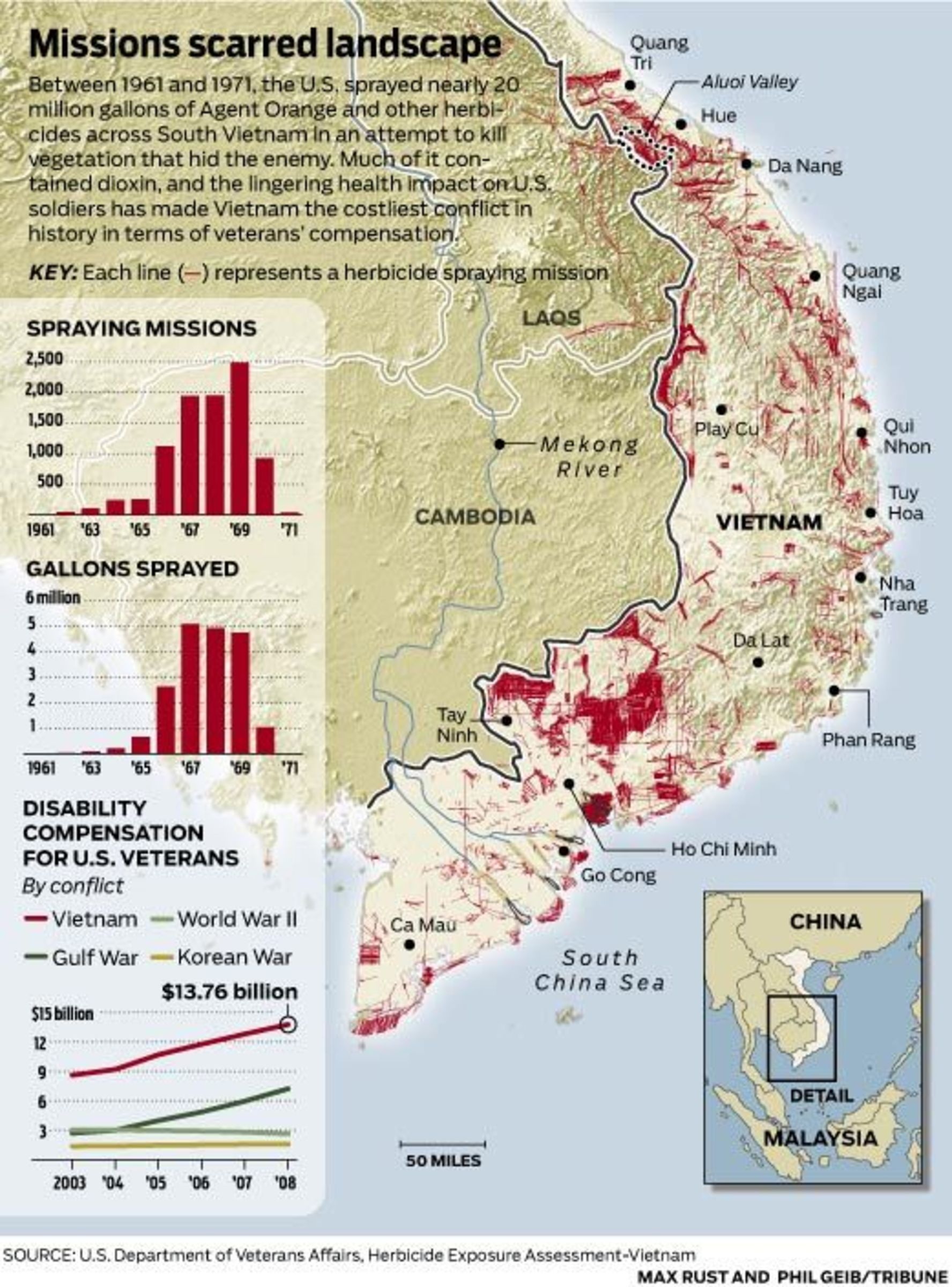 Maps That Americans Dont Like To Talk About Vox - Map of us bases in south vietnam