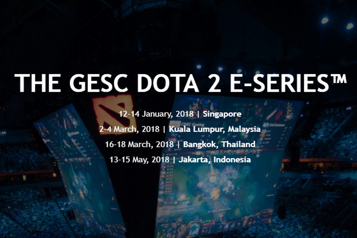gesc announces four dota 2 events in southeast asia the flying