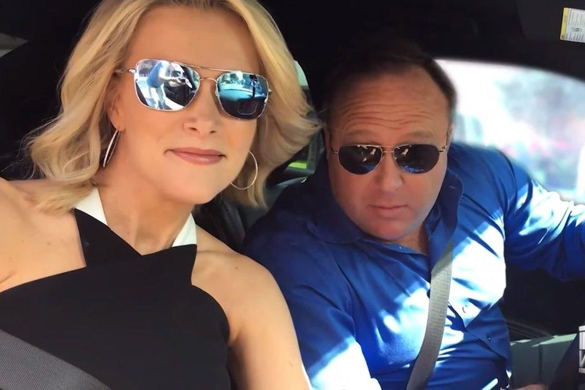 Image result for alex jones megyn kelly interview