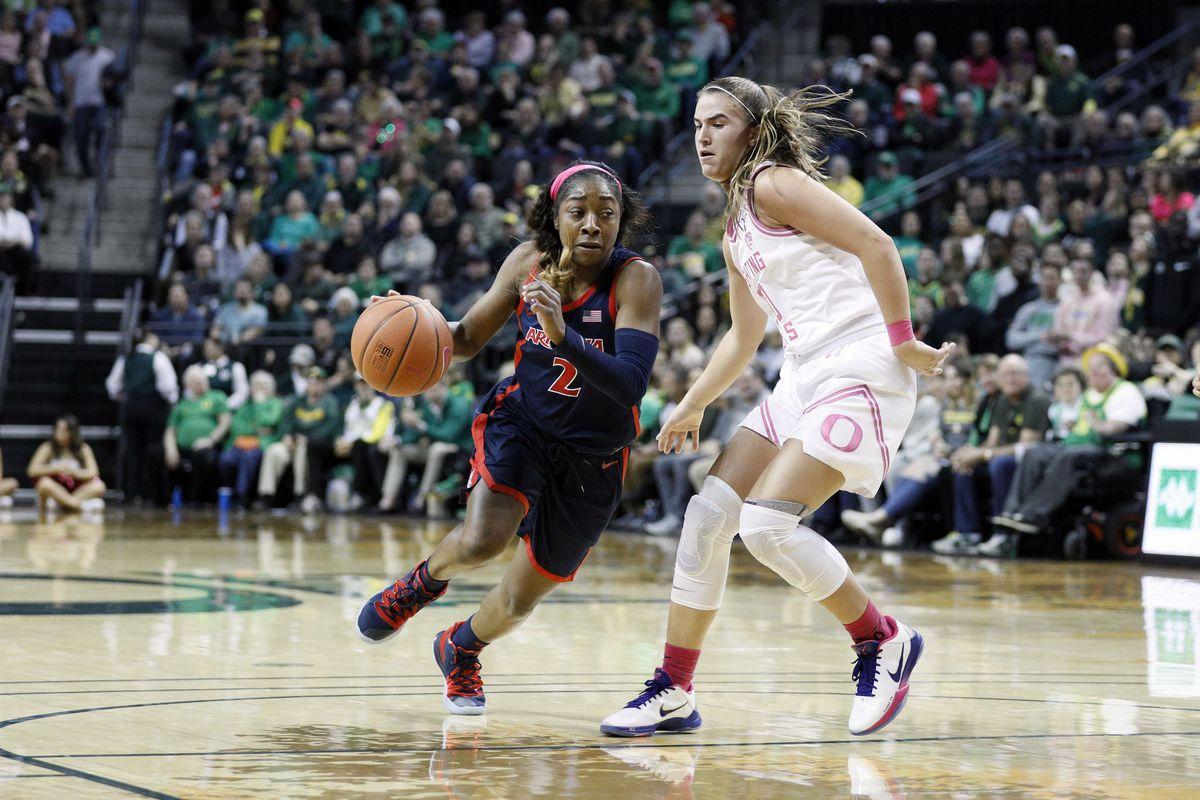 NCAA Womens Basketball: Arizona at Oregon