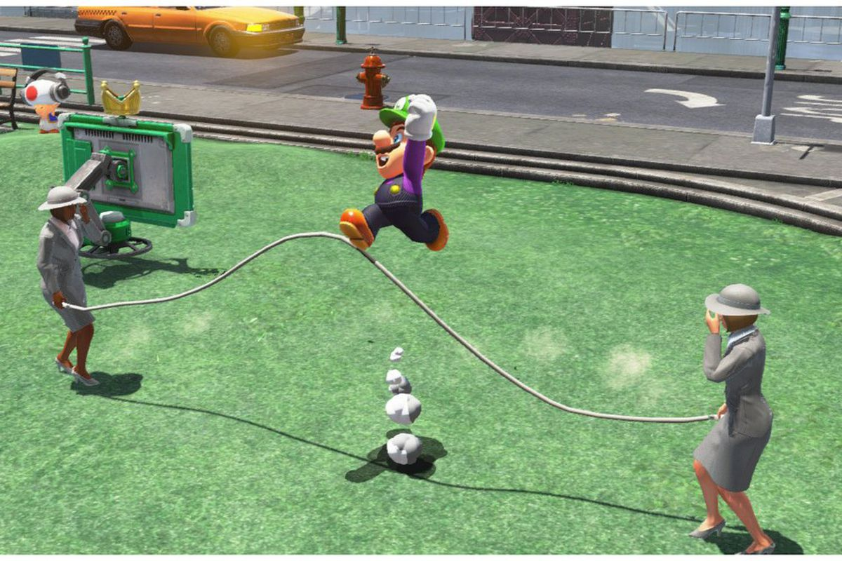 how to triple jump mario odyssey