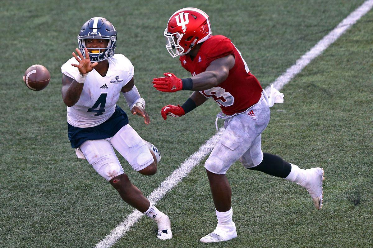 NCAA Football: Georgia Southern at Indiana