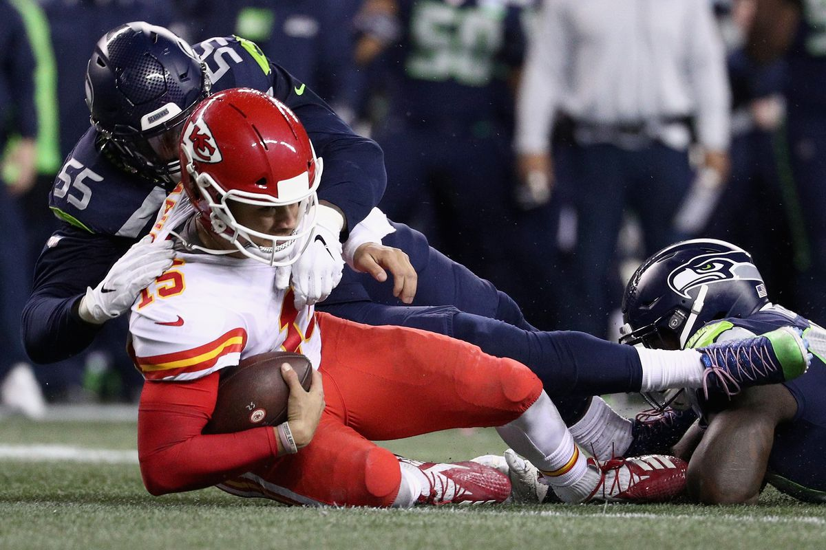 Seahawks trade Frank Clark to Chiefs, what did they get in return?