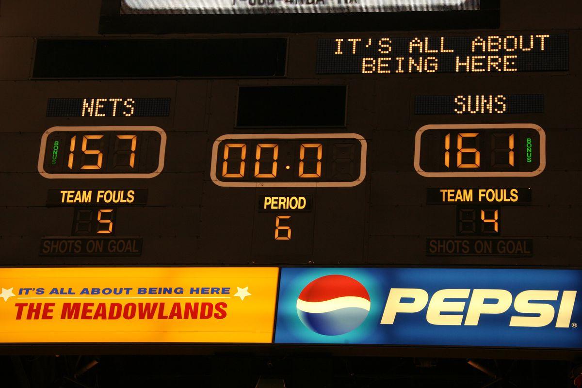 Phoenix Suns v New Jersey Nets