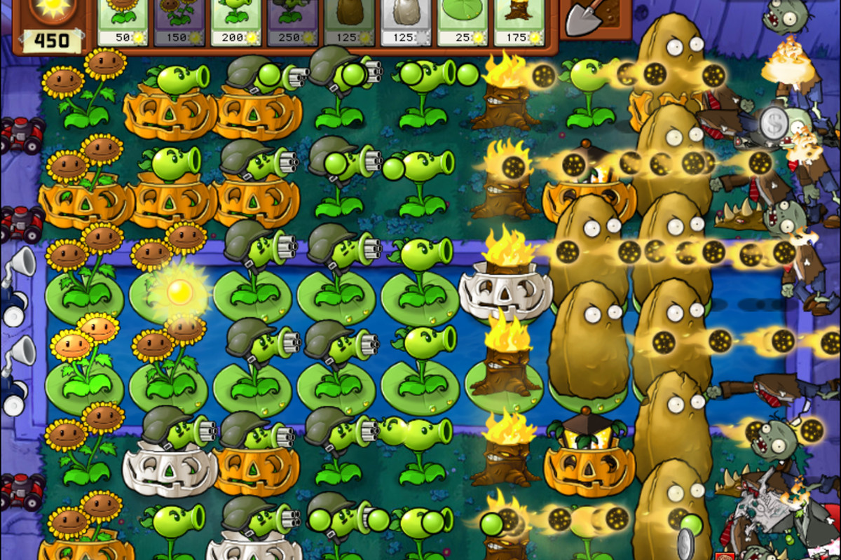 Plants vs Zombies free on iTunes App Store for iPhone and