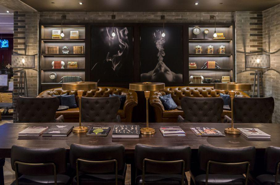 Your First Look Inside Montecristo Cigar Bar Eater Vegas