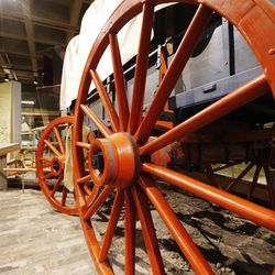 Items displayed at the Church History Museum in Salt Lake City Wednesday, Sept. 24, 2014. Thirty years after its original opening, the Church History Museum will close on October 6, 2014, for one year to complete major renovations. The museum will reopen in fall 2015 with a newly designed floor plan and exhibitions.