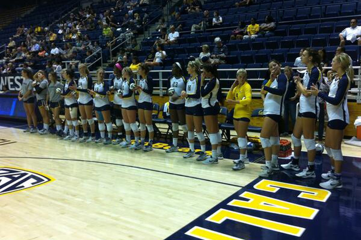 The 2013 Cal Volleyball squad is ready to start Pac-12 play.