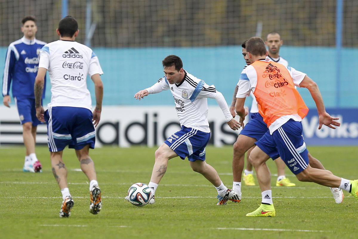 Lionel Messi didn't get this far just by practicing a lot.