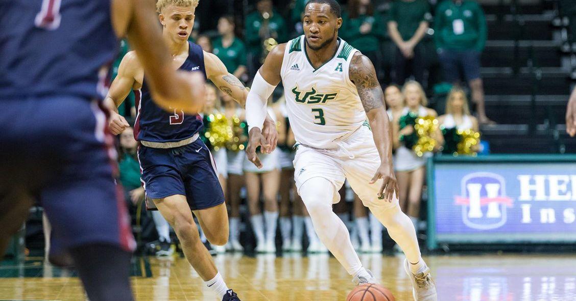 Usf Men S Basketball Knocks Off Uconn In Conference Opener