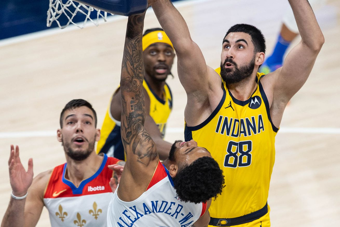 NBA: New Orleans Pelicans at Indiana Pacers