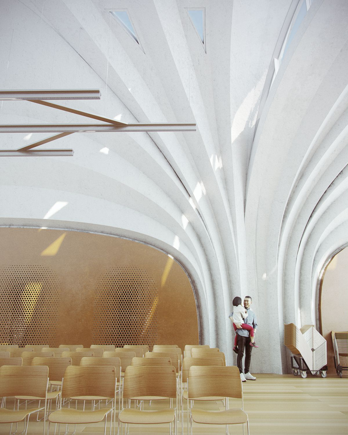 Zaha Hadid Architects Designs Vaulted School In China Made