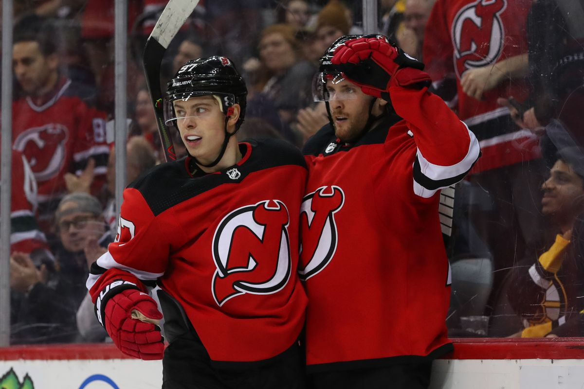 NHL: Boston Bruins at New Jersey Devils