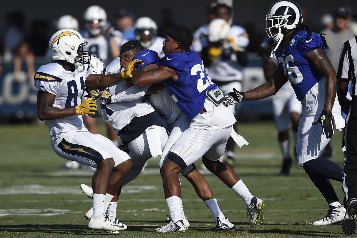 Image result for Los Angeles Chargers vs Los Angeles Rams