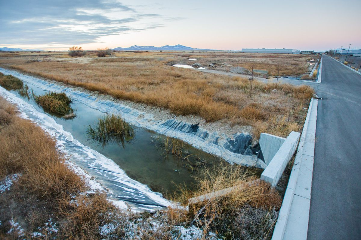 FILE - Land that is being considered for development by Salt Lake City is seen on Monday, Dec. 5, 2016.