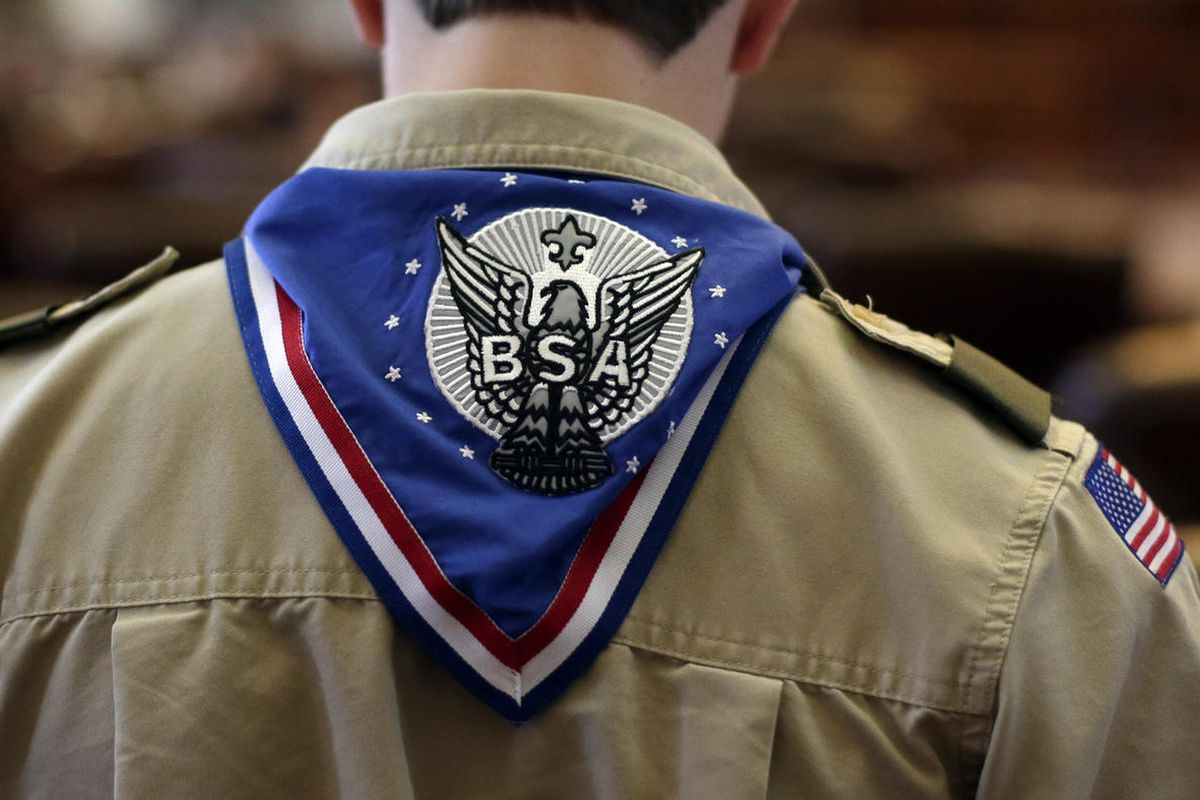 FILE - The Boy Scouts of America says it will allow transgender youth in boys-only program.