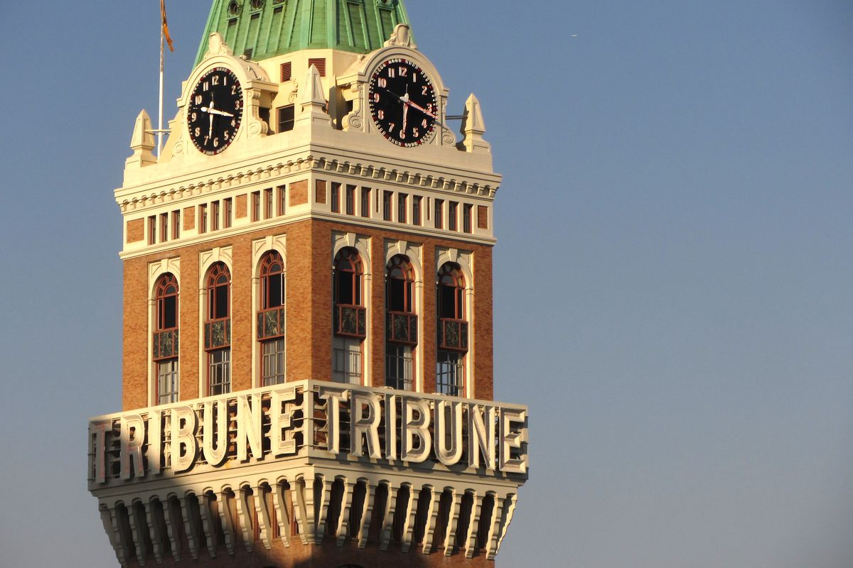 Tribune Tower in Oakland.