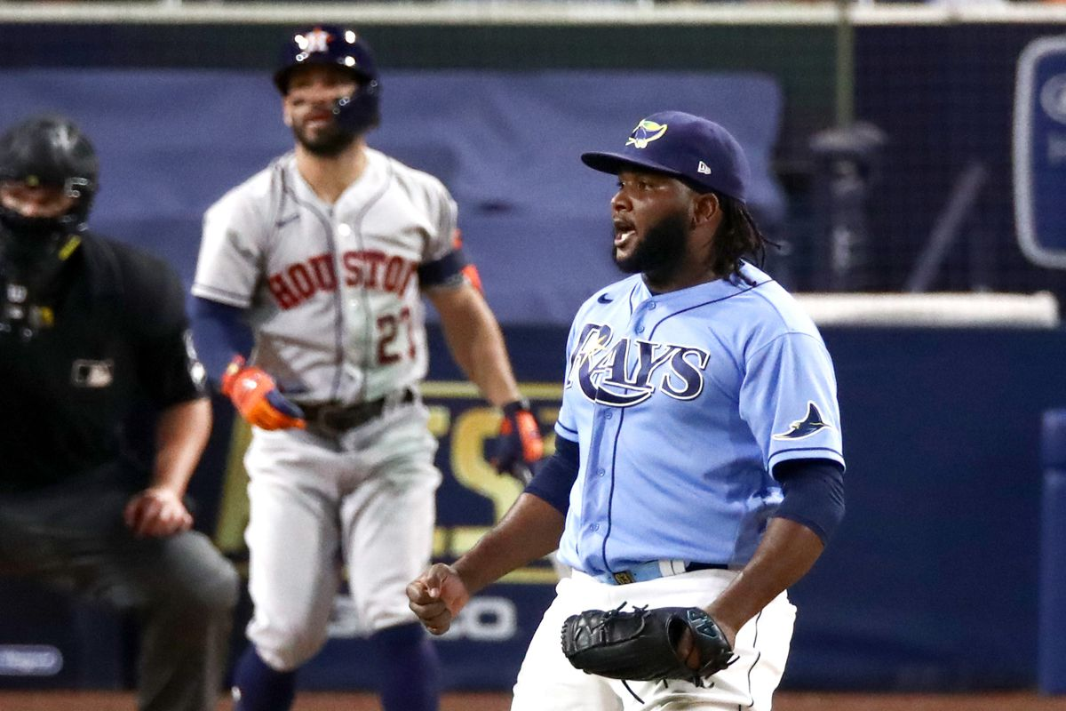League Championship - Houston Astros v Tampa Bay Rays - Game One