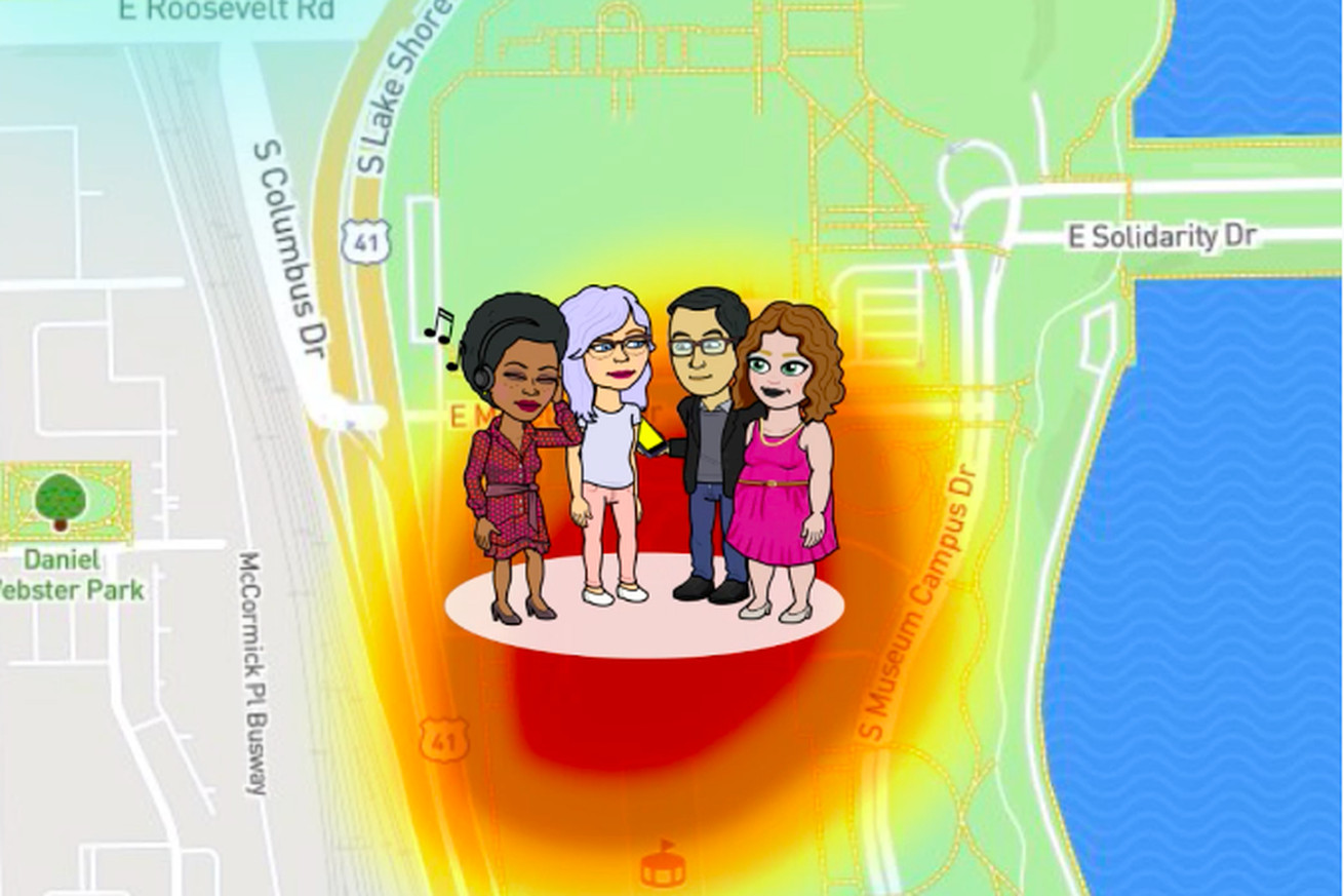 snapchat s map explore feature will let you know when your friends are hanging out without you