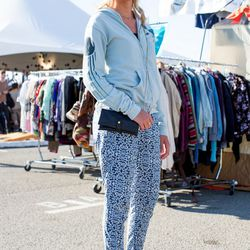 Anja Sevnsson; Why we love her look: she could not look comfier but still maintains a level of chic.
