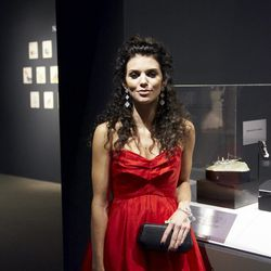 """AnnaLynne McCord dripping in diamonds, """"[They're] very expensive! I've been scared all night,"""" she said of wearing them."""