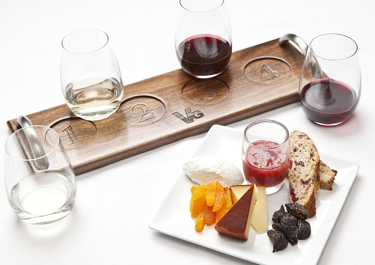 Charcuterie board at Vintner Grill