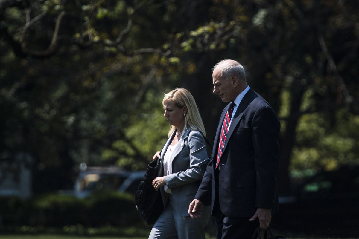 Trump names top Kelly aide, a cybersecurity expert, to run Homeland Security