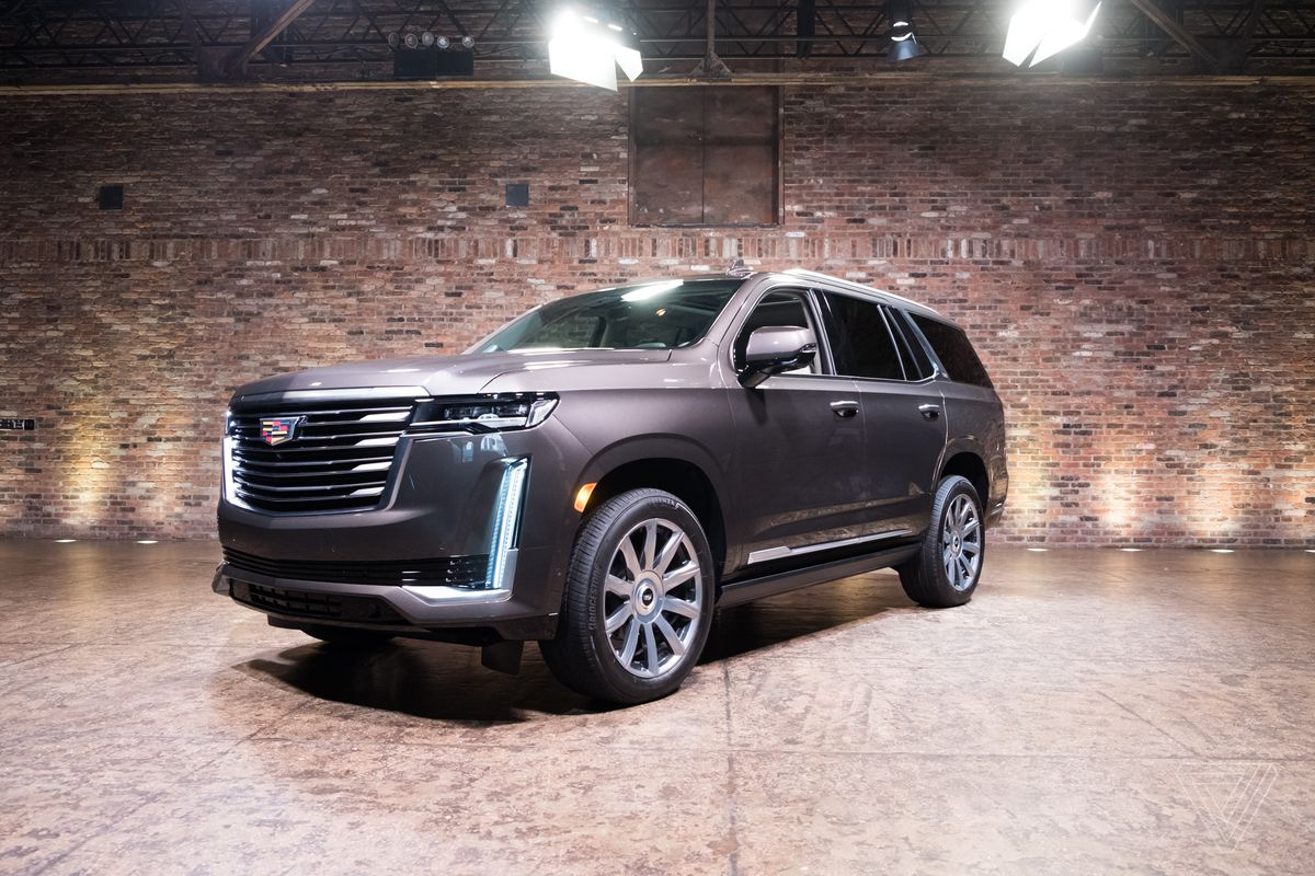 Driving the 2021 Cadillac Escalade was one of the most ...