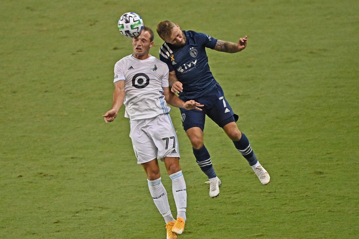 MLS: Minnesota United FC at Sporting Kansas City