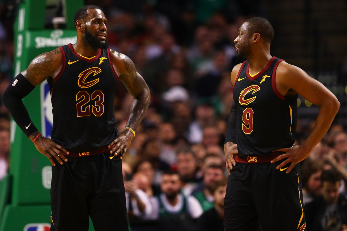 df6fe2859 Dwyane Wade thinks LeBron James could choose lifestyle over basketball in  free agency