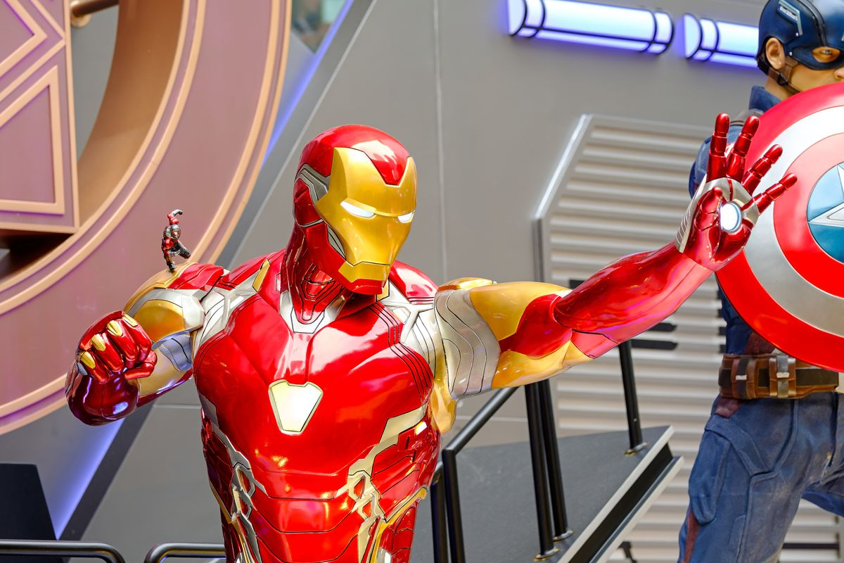 Iron man is a fictional character seen appearing in American...